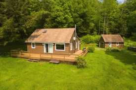 Catskill Cabin on 44.04 Acres - Catskill Rustic Cabin for Sale