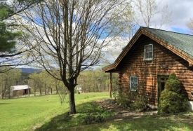 Catskills Log Cabin with Views - Private Log Cabin