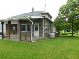 The 2-3 bedroom home has been updated with a modern kitchen  - LOCATION!!LOCATION!!