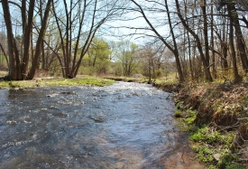 Land on Bryant's Brook with improvements - close to Andes and Margaretville