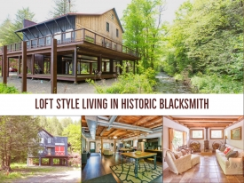 Loft Style Living in Redesigned historical Blacksmith - LOFT STYLE LIVING