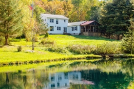 On golden pond  - 16 acres ( three lots )