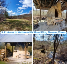 Land with Wood Kiln and Valley Views - Land with Wood Kiln and Valley Views