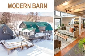 An Absolute MUST SEE Renovated BARN - Stunning RENOVATED BARN with POND