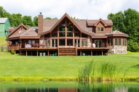 Custom Built Cedar Home - Catskill Mountains Dream Property